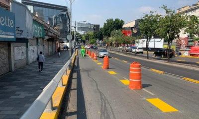 Amplían ciclopistas para regreso a la movilidad en la CDMX