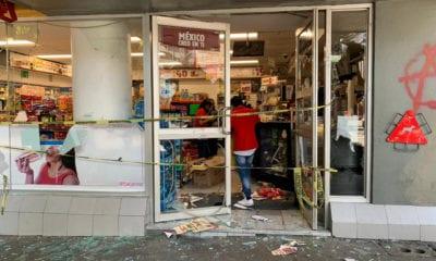 Anarquistas vandalizan en la CDMX
