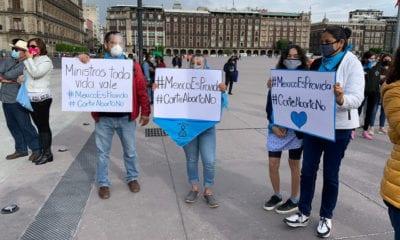 Miles de mexicanos piden a la SCJN proteger y defender la vida