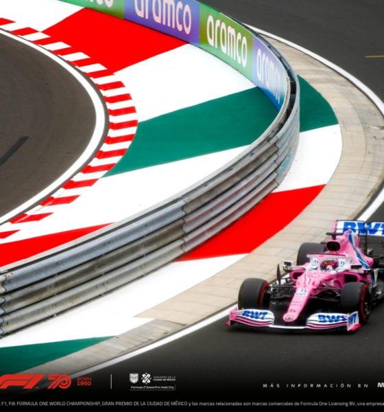 Cancelan el GP de México de la F1. Foto: Twitter GP de México