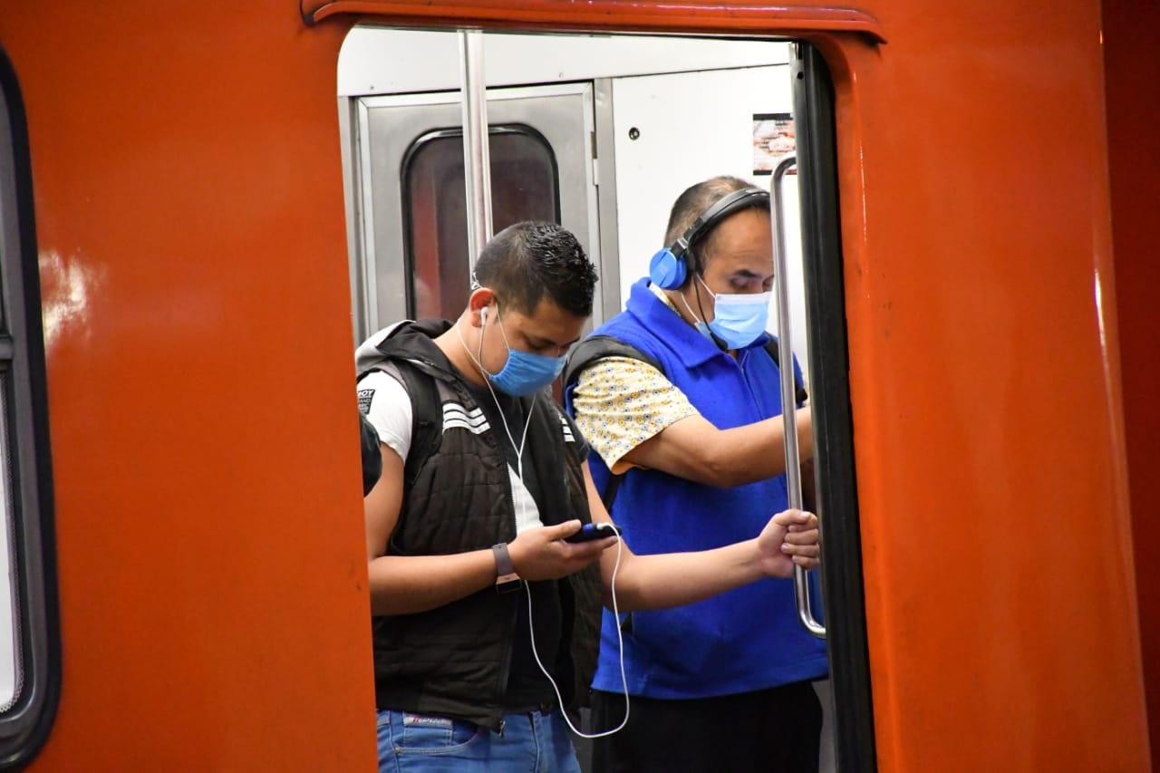 Cierran Estaciones del Metro de la CDMX. Foto: Metro CDMX