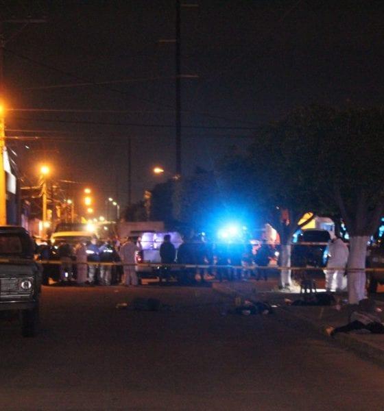 Ejecutan a cuatro personas en Celaya. Foto: Cuartoscuro