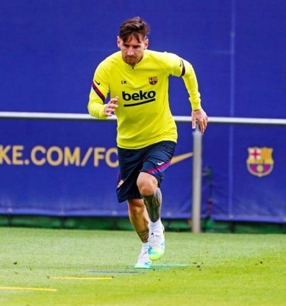 En duda continuidad de Messi. Foto: Barcelona