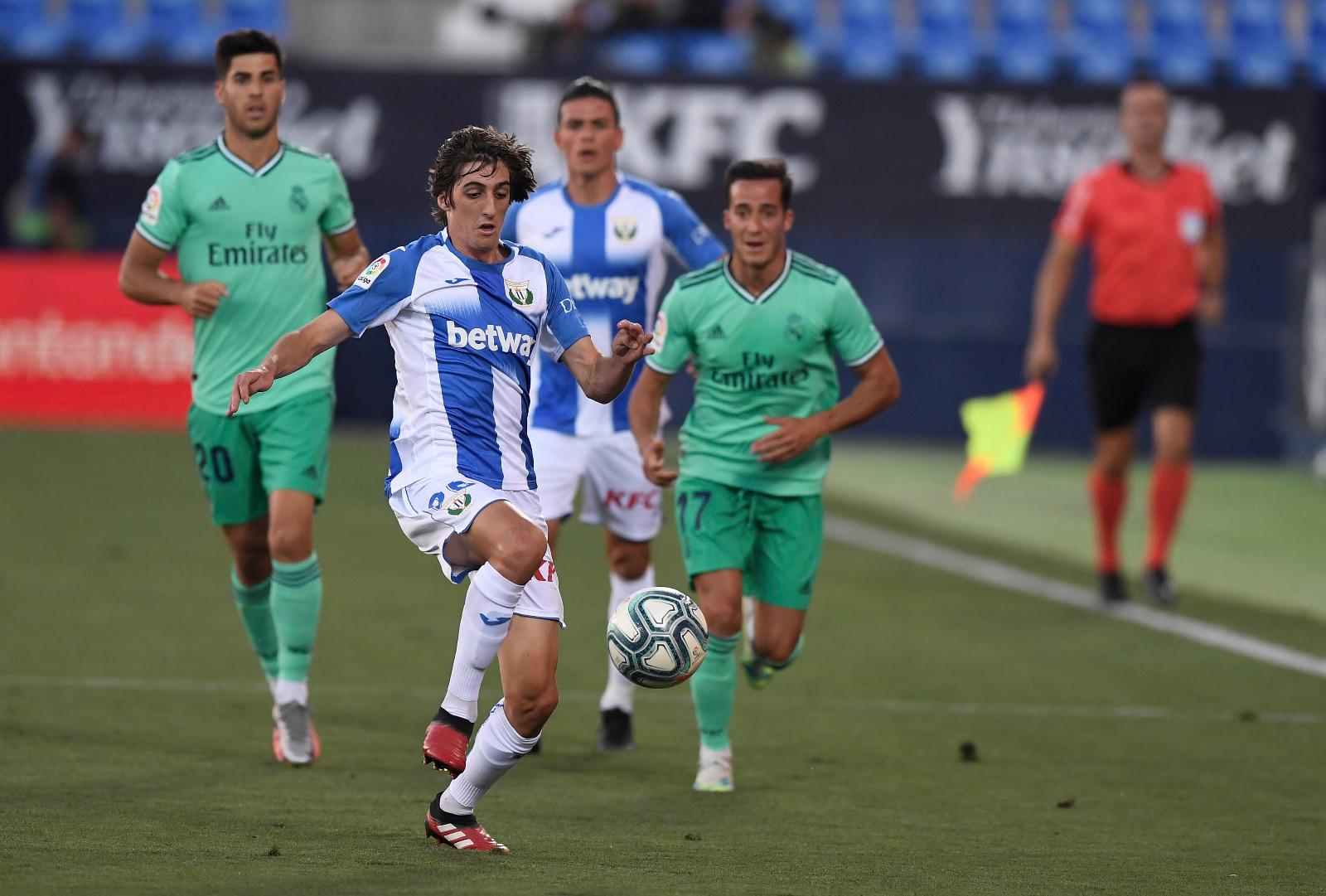 Leganés empató con Real Madrid. Foto: Leganés