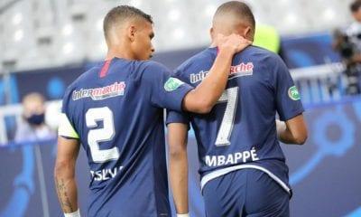 Mbappe baja de la Champions. Foto: PSG