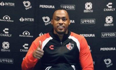 Sin fecha para el debut de Renato Ibarra. Foto: Twitter Atlas