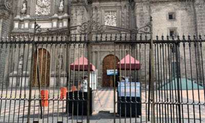 Reabren iglesias en la Ciudad de México