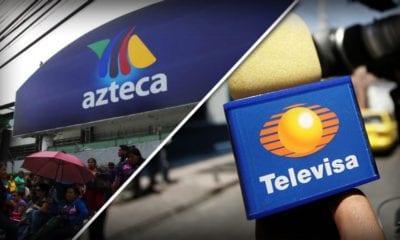 Televisa y TV Azteca se reparten el pastel. Foto: Cuartoscuro