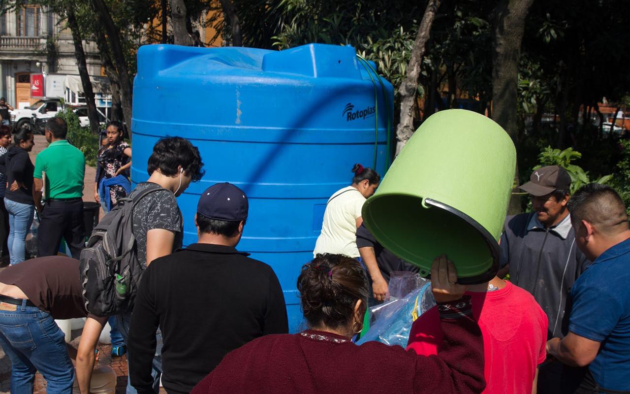 Anuncian corte de agua en CDMX y el Edomex este fin de semana