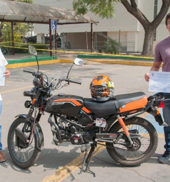 Diseñan politécnicos sistema antirrobo de motocicletas