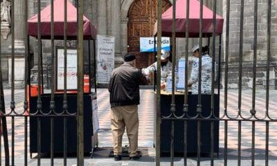 Catedral Metropolita alista reapertura a partir del lunes