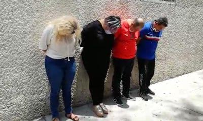 Detienen a integrantes de banda que introduce droga al Reclusorio Norte