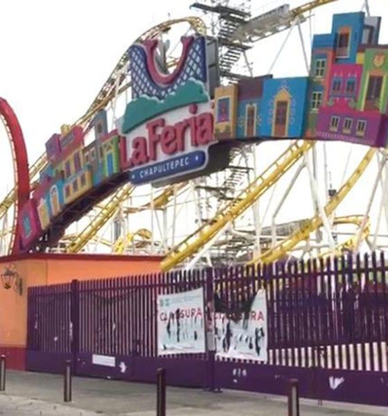 Desmontan juegos de la Feria de Chapultepec