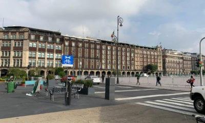 Ingresan por apellido al Centro Histórico de la CDMX