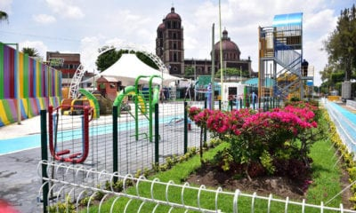 Rehabilitan parque abandonado para recibir a gente cuando termine confinamiento