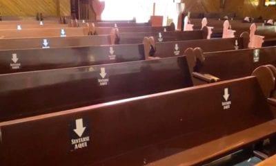 Fieles católicos acuden a iglesias de Ecatepec