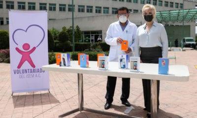 Regalan teléfonos para videollamadas entre pacientes Covid y sus familiares