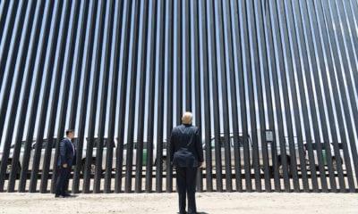 Estados Unidos estaría 'inundado' de Covid-19 si no fuera por el muro: Trump