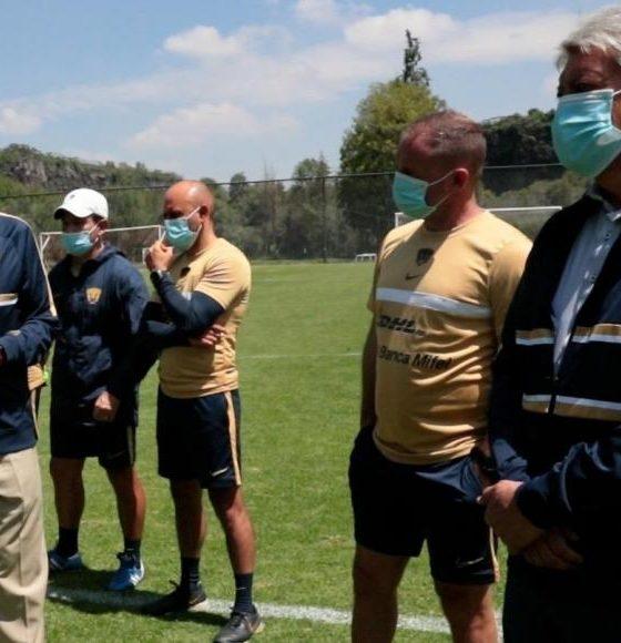 Andres_Lillini_pumas. Foto: Pumas
