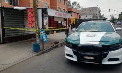 Discusión afuera de una tienda provoca balacera en Iztapalapa