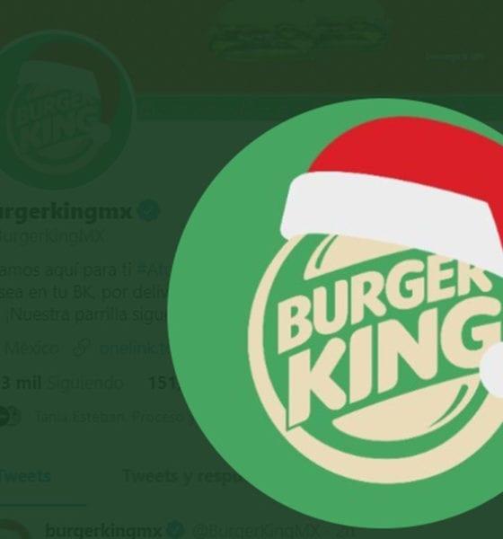 Burger King termina el 2020 e invita a celebrar Navidad en agosto