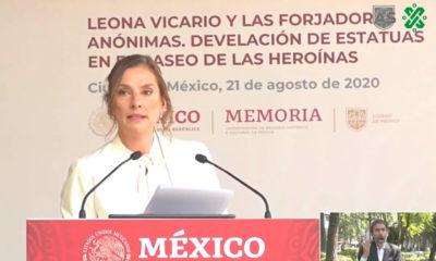 Leona Vicario dio dinero y no la grabaron: Gutiérrez Müller