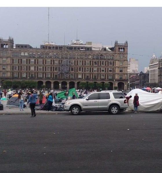 Sin respuestas a su demanda, la CNTE retira plantón del Zócalo