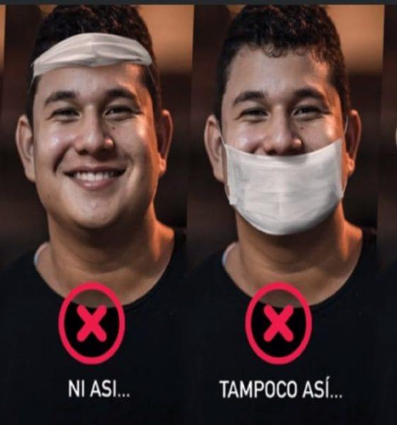 Campaña por el uso de cubrebocas