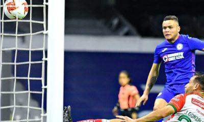 Cruz Azul le pegó a Necaxa. Foto: Twitter Liga MX