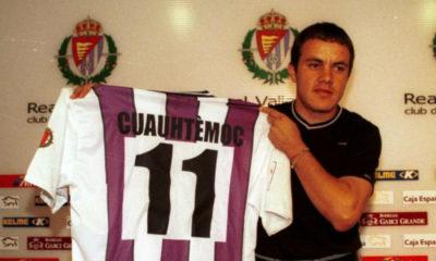 Cuauhtémoc Blanco a punto de morir con el Valladolid. Foto: Twitter