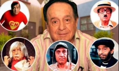Desaparece Chespirito. Foto: Twitter
