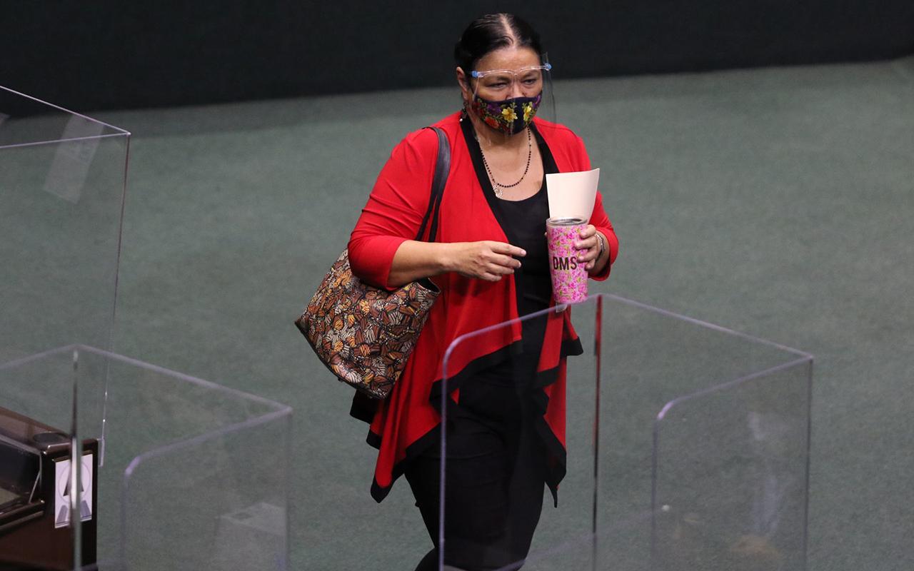 Dulce María Sauri no alcanza mayoría para presidir la Cámara de Diputados