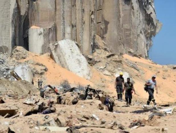 Explosión en Líbano pudo haber sido provocada. Foto: Twitter