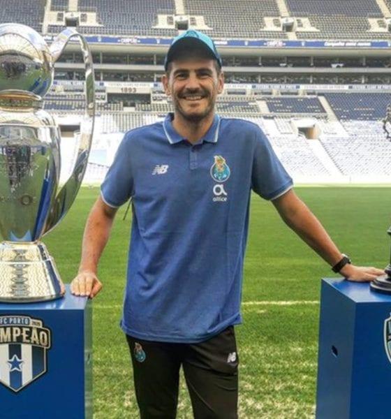 Iker Casillas dice adiós. Foto: Iker Casillas