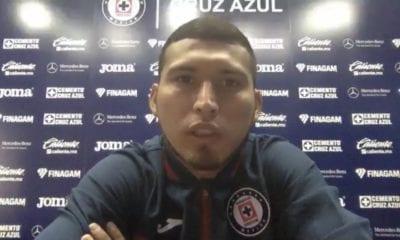 Juan escobar sabe que Cruz Azul aún está lejos. Foto: Twitter