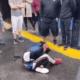 Ladrón recibe golpiza. Foto: Twitter