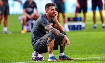 Lionel Messi se rebela. foto: Twitter Barcelona