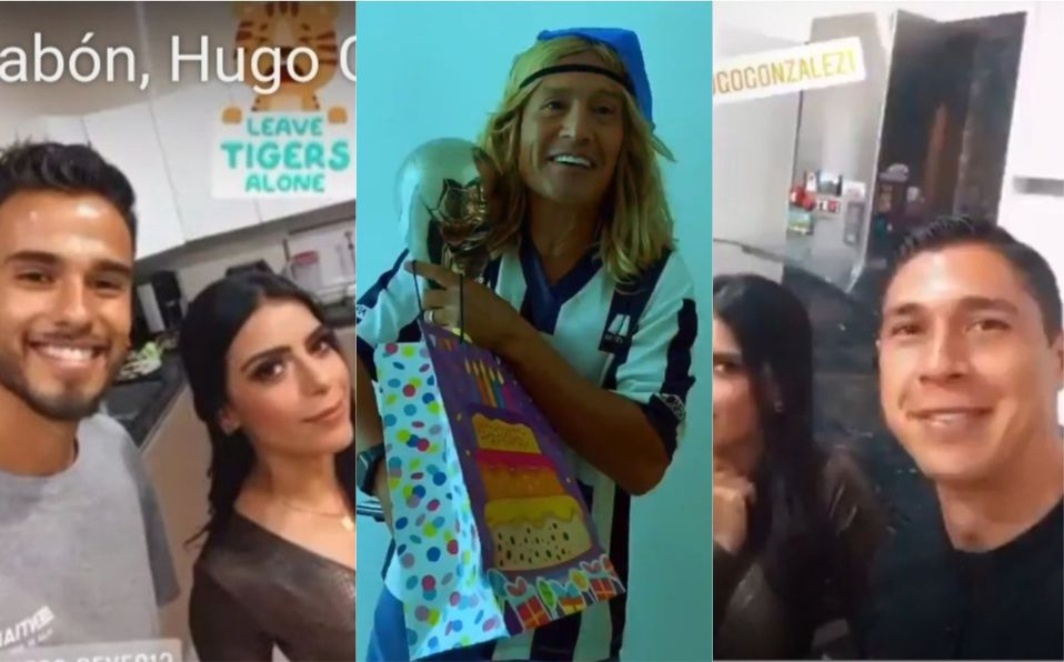 """Luis """"Matador"""" Hernández se burla de jugadores de Monterrey. Foto: Twitter"""