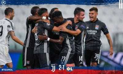 Lyon dio cuenta de la Juve. Foto. Twitter Lyon