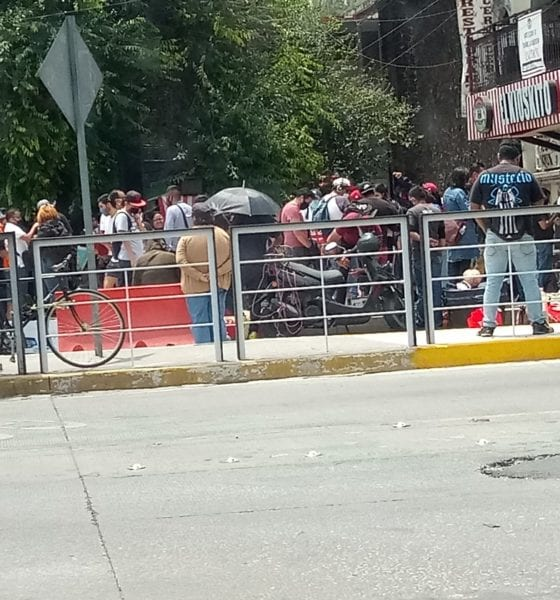 Mercado de juguetes presenta aglomeraciones en la CDMX. Foto: Twitter