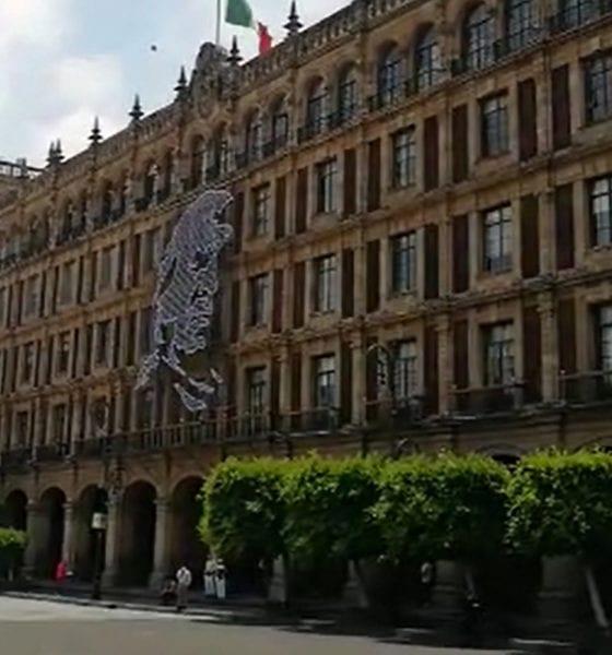 Inicia instalación de adornos patrios en Ciudad de México