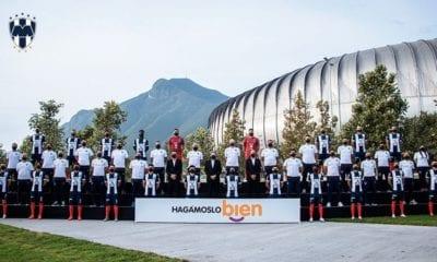 Monterrey se toma la foto oficial sin Hugo González. Foto: Twitter