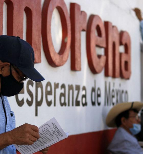 INE no pidió participar en el proceso interno de Morena