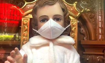 """Niño Dios con cubrebocas pone ejemplo a """"incrédulos"""""""