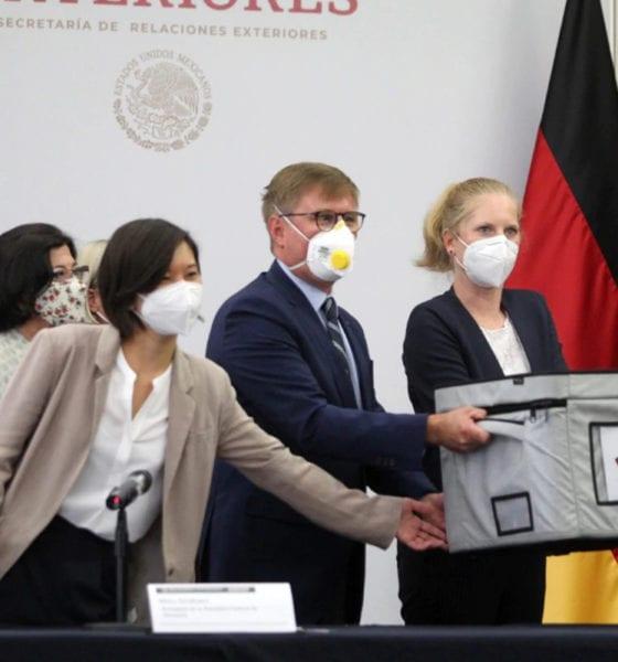 Alemania dona 100 mil pruebas PCR de Covid-19 a México