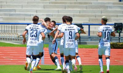 Pumas golea a Xolos y es sublíder. Foto: Twitter Liga MX