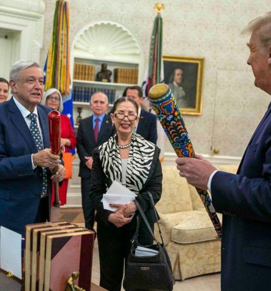 """Trump reitera que México tiene """"tremendos"""" problemas con el Covid"""