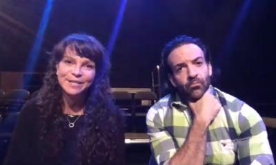 Elena Mariana Garza y Pablo Perroni