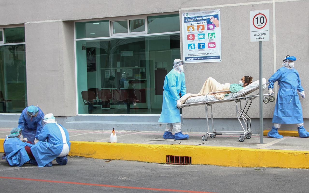 Sin realización de pruebas, disminuyen contagios de Covid en México