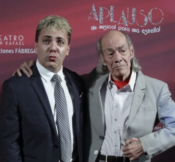 Cristian Castro y El Loco Valdés